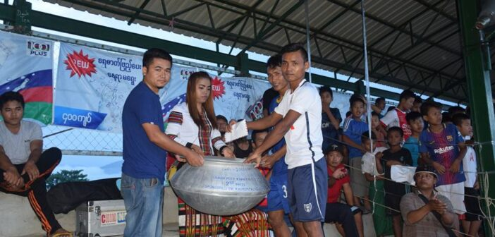 Khonumthung was co-sponsored of village level football tournament in Tahan, Kalaymyo, organized by Tahan Mizo Thalai Pawl (TMT) Chin youth organization. The final game was kickoff on 19 October 2017.