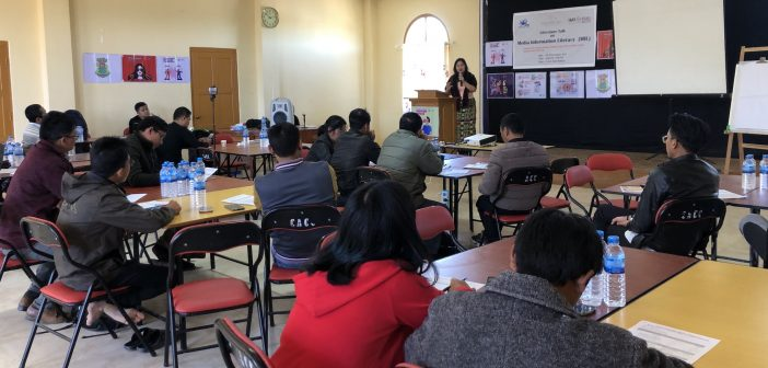"""Media Information Literacy Workshop"" in Hakha on 29-30, Nov. 2019"