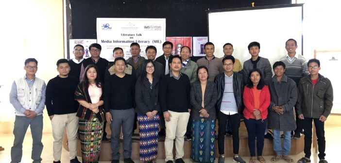 'Media Information Literacy workshop' by Khonumthung & BNI on 29-30 December 2019 in Hakha